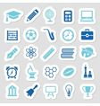 education stickers vector image vector image