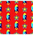 Pop Art Rockets vector image vector image