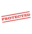 Protected Watermark Stamp vector image