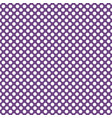 tile pattern with white polka dots on dark violet vector image vector image