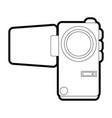 video camera vector image vector image