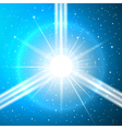 space background 2 vector image