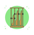 angklung indonesia traditional music instrument vector image vector image