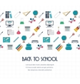 Back to school banner background concept with