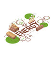 electricity earth power electrical bulbs vector image vector image