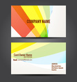 simple and clean business template vector image vector image