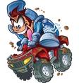 Wild ATV Quad Rider vector image vector image