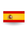 Spanish Flag vector image