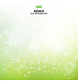 abstract blurred soft focus bokeh of bright green vector image vector image