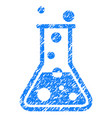 boiling liquid grunge icon vector image vector image