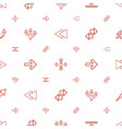 forward icons pattern seamless white background vector image vector image