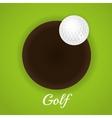 Golf sport design vector image vector image