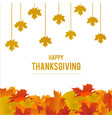 happy thanksgiving day creative typography with vector image