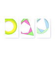 set op covers with simple geometric shapes multi vector image