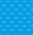 wet cloud pattern seamless blue vector image vector image