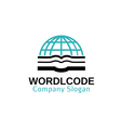 World Code Design vector image vector image