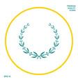 laurel wreath symbol graphic elements for your vector image