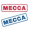 Mecca Rubber Stamps vector image vector image
