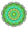 ornate eastern mandala colorful ornament vector image vector image