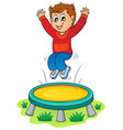 play and fun theme image 3 vector image vector image