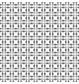 seamless geometric pattern in mono line style can vector image