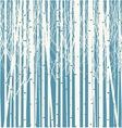 Seamless texture with forest of trees vector image vector image