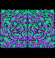 vintage psychedelic abstract shamanic ornament vector image vector image