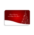 Abstract Beauty Christmas and New Year Card vector image