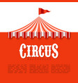 circus advertisement poster background vector image vector image