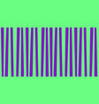 cute pattern banner with green and violet vector image