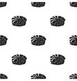 Ebi Nigiri icon in black style isolated on white vector image vector image