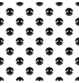 Embarrassing smiley pattern simple style vector image vector image