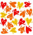 fun heart wallpapers vector image vector image