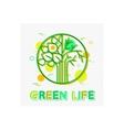 green life concept life banner life