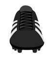 isolated soccer cleat vector image vector image