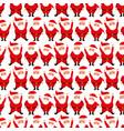 merry christmas santa claus cartoon decoration vector image
