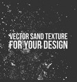 sand texture for your design vector image vector image