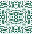 seamless pattern with traditional oriental arabic vector image