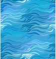 seamless wave background drawn lines vector image vector image
