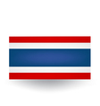 Thai Flag vector image