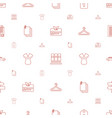 blank icons pattern seamless white background vector image vector image