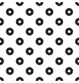 curl bakery pattern seamless vector image