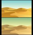 Desert 3 vector image vector image