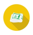 flat icon pack of dollars vector image