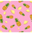 Fruits pineapple seamless patterns