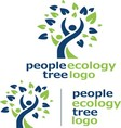 people ecology tree logo 4 vector image vector image