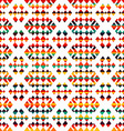sunny geometric seamless pattern vector image