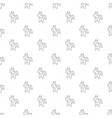 toy horse pattern seamless vector image