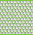 abstract effect honey comb green background vector image vector image
