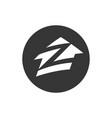 astana kazakhstan -20 july 2020 zillow icon vector image vector image
